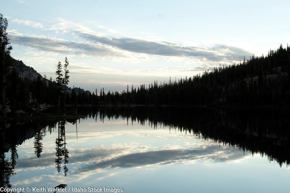 Alice Lake, Sawtooth National Recreation Area, Idaho.