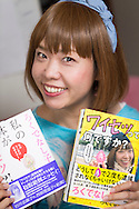 Konstnären Megumi Igarashi, som sedan fem år tillbaka går under pseudonymen Rokudenashiko med sina två böcker. Tokyo, Japan.