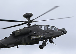 Boeing AH-64 Apache, Farnborough International Airshow, London Farnborough Airport UK, 15 July 2016, Photo by Richard Goldschmidt