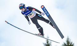 11.01.2014, Kulm, Bad Mitterndorf, AUT, FIS Ski Flug Weltcup, Bewerb, im Bild Anders Fannemel (NOR) // Anders Fannemel (NOR) during the FIS Ski Flying World Cup at the Kulm, Bad Mitterndorf, Austria on <br /> 2014/01/11, EXPA Pictures © 2014, PhotoCredit: EXPA/ JFK