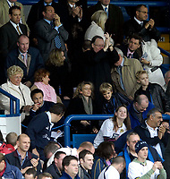 Photo: Jed Wee.<br />Leeds United v Southend United. Coca Cola Championship. 28/10/2006.<br /><br />Leeds' new manager Dennis Wise watches them take the lead.