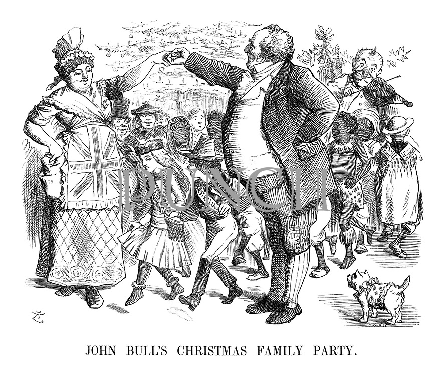 John Bull's Family Christmas Party.