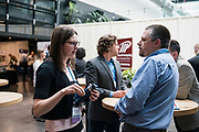Jessica Martin Eckerly from Forward BIOLABS at the Wisconsin Entrepreneurship Conference at Venue 42 in Milwaukee, Wisconsin, Tuesday, June 4, 2019.