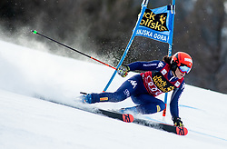 BRIGNONE Federica of Italy competes during the Ladies' GiantSlalom at 56th Golden Fox event at Audi FIS Ski World Cup 2019/20, on February 15, 2020 in Podkoren, Kranjska Gora, Slovenia. Photo by Matic Ritonja / Sportida