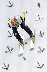 03.01.2014, Bergisel Schanze, Innsbruck, AUT, FIS Ski Sprung Weltcup, 62. Vierschanzentournee, Training, im Bild Noriaki Kasai (JPN) // Noriaki Kasai (JPN) during practice Jump of 62nd Four Hills Tournament of FIS Ski Jumping World Cup at the Bergisel Schanze, Innsbruck, <br /> Austria on 2014/01/03. EXPA Pictures © 2014, PhotoCredit: EXPA/ JFK