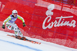 19.01.2011, Tofana, Cortina d Ampezzo, ITA, FIS World Cup Ski Alpin, Lady, Cortina, Abfahrt 1. Training, im Bild Isabelle Stiepel (GER, #41) // Isabelle Stiepel (GER) during FIS Ski Worldcup ladies downhill first training at pista Tofana in Cortina d Ampezzo, Italy on 19/1/2011. EXPA Pictures © 2011, PhotoCredit: EXPA/ J. Groder