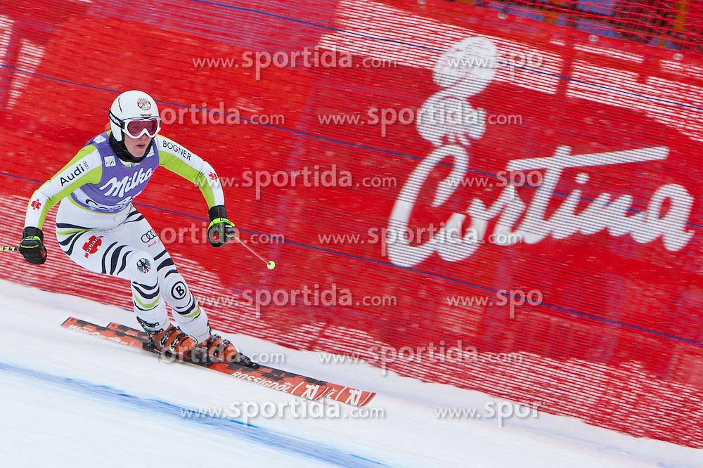 19.01.2011, Tofana, Cortina d Ampezzo, ITA, FIS World Cup Ski Alpin, Lady, Cortina, Abfahrt 1. Training, im Bild Isabelle Stiepel (GER, #41) // Isabelle Stiepel (GER) during FIS Ski Worldcup ladies downhill first training at pista Tofana in Cortina d Ampezzo, Italy on 19/1/2011. EXPA Pictures © 2011, PhotoCredit: EXPA/ J. Groder
