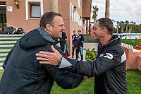 MARBELLA - 07-01-2017, Trainingskamp, AZ - FC Augsburg, 1-1, AZ trainer John van den Brom,