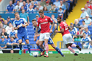 Barnsley midfielder George Moncur during the EFL Sky Bet Championship match between Ipswich Town and Barnsley at Portman Road, Ipswich, England on 6 August 2016. Photo by Nigel Cole.