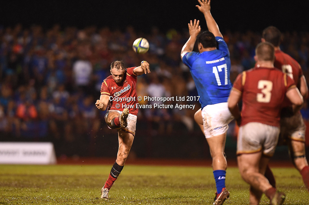 23.06.17 - Samoa v Wales -<br /> Cory Allen of Wales.<br /> Copyright photo: Ben Evans / www.photosport.nz