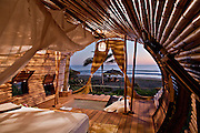Stunning Solar-Powered Treehouse In Mexico<br /> <br /> Simply north of Acapulco, in Juluchuca, Mexico, the Playa Viva renewable hotel possess launched a treehouse collection enclosed by lush palms. Using sustainable vacationing to another levels, the bilevel, beachfront treehouse sprawls over 700 square feet and was made by Deture Culsign. The firm directed to &ldquo;visually intrigue and highlight sustainable campaigns to supply a natural immersive visitor feel.&rdquo; Compared to that conclusion the treehouse, that has been finished in only half a year from preliminary design conference to earliest guest checkin, is made of bamboo with energy and hot water supplied by solar powered energy.<br /> <br /> The idea of the design is actually for visitors to experience indoor and outside lifestyle within one space that is seamless. The locally acquired wood blends into the environment, with an unbarred atmosphere sitting place and private restroom situated on the ground floor. The roof associated with the toilet are deliberately rounded away, setting up to the sky and promoting an shower sensation that is outdoor. Top of the room, or perch, contains a king bed as well as 2 individual hammock&mdash;perfect for gazing out of the open tube on the exclusive beach.<br /> <br /> Guests include expected to leave their own inhibitions behind, investing in the au naturel feeling with the treehouse, which was developed by California-based Artistree. The package can sleeping three people who have costs ranging from $445 to $620, depending on the period, food, and pilates classes integrated. The resort alone sits on 200 miles and includes an estuary, an Aztec archeological web site, turtle retreat, and a coastal forest and mangrove environment which supporting a myriad of animals.<br /> &copy;Leonardo.Palafox/DETURE CULSIGN/Exclusivepix Media