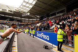 Tomas Kalas of Bristol City throws his shirt into the crowd - Mandatory by-line: Robbie Stephenson/JMP - 05/05/2019 - FOOTBALL - KCOM Stadium - Hull, England - Hull City v Bristol City - Sky Bet Championship