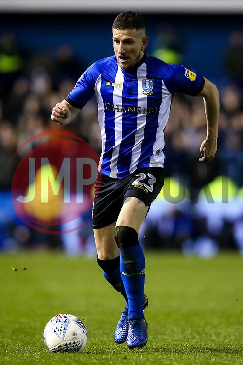 Sam Hutchinson of Sheffield Wednesday - Mandatory by-line: Robbie Stephenson/JMP - 04/03/2019 - FOOTBALL - Hillsborough - Sheffield, England - Sheffield Wednesday v Sheffield United - Sky Bet Championship