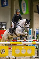 Durt Angelina, BEL, Robbie F<br /> Nationaal Indoor Kampioenschap Pony's LRV <br /> Oud Heverlee 2019<br /> © Hippo Foto - Dirk Caremans<br /> 09/03/2019