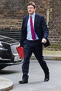 Communities Secretary Greg Clark arrives at the UK Cabinet meeting at Downing Street, London.<br /> Picture by Paul Davey/Focus Images Ltd +447966 016296<br /> 08/03/2016