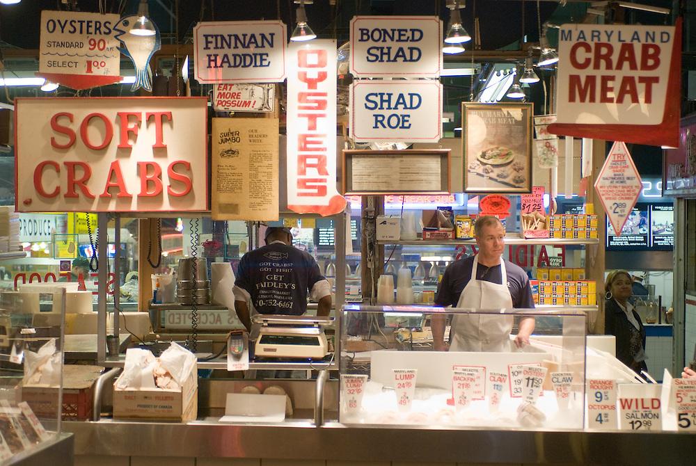 Lexington Market in Baltimore, Md