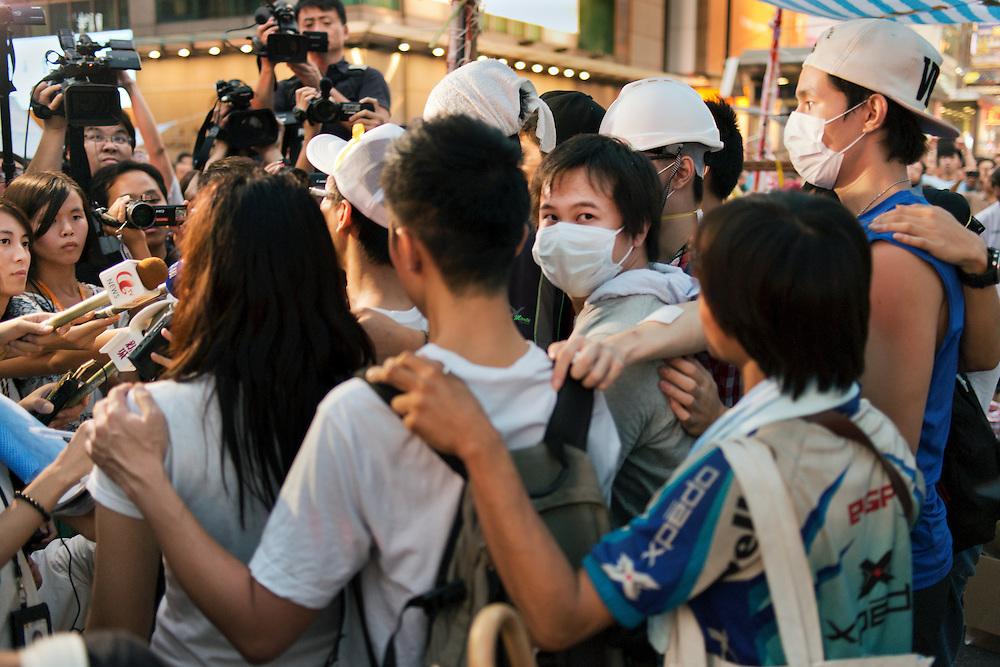 Hong Kong's democracy protest in Mongkok