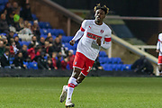 Freddie Ladapo (10)during the EFL Sky Bet League 1 match between Peterborough United and Rotherham United at London Road, Peterborough, England on 25 January 2020.