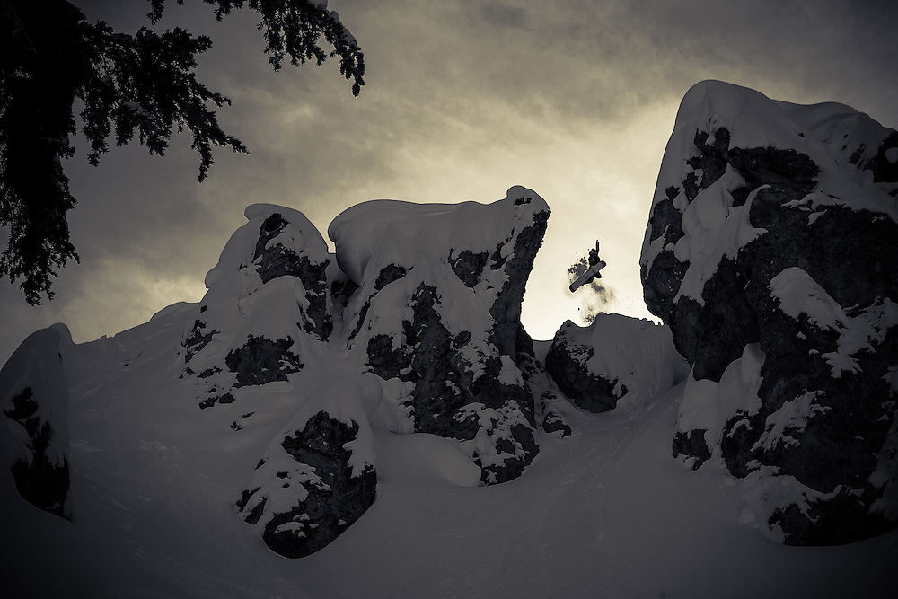 Mike Basich, Tahoe backcountry, CA. USA