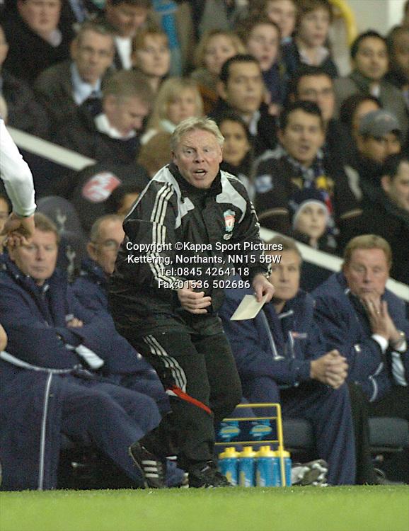 SAMMY LEE, COACH LIVERPOOL, Tottenham Hotspur - Liverpool, Carling Cup White Hart Lane Wednesday 12th November 2008, 12/11/08