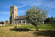 All Saints church, Hollesley, Suffolk, England