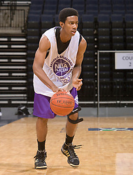 2G Lorenzo Brown (Roswell, GA / Centennial).  The NBA Player's Association held their annual Top 100 basketball camp at the John Paul Jones Arena on the Grounds of the University of Virginia in Charlottesville, VA on June 18, 2008
