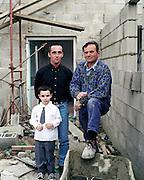 Sur le chantier, Saint-Ouen, Picardie, France. 21.06.2002.