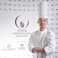 Competitor Royce Li. World Chocolate Masters Canadian Selection, January 20, 2013.