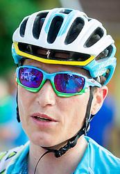 Jani Brajkovic of Astana during Slovenian Road Cyling Championship 2013 on June 23, 2013 in Gabrje, Slovenia. (Photo by Vid Ponikvar / Sportida.com)
