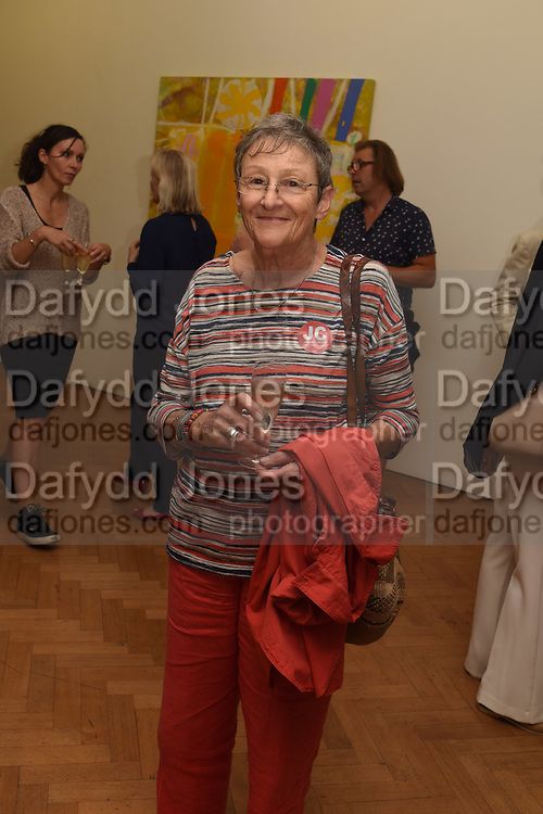 SUSAN LOPPERT, Albert Irvin: Painting the Human Spirit - private view<br /> Exhibition dedicated to the memory of Albert Irvin who passed away in March 2015. Private view held on anniversary of Irvin's birthday .Gimpel Fils Gallery, 30 Davies Street, London, 21 August 2015.