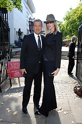 MARIO TESTINO and JADE PARFITT at the memorial service of Isabella Blow held at the Guards Chapel, London W1 on 18th September 2007.<br /><br />NON EXCLUSIVE - WORLD RIGHTS
