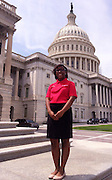 Ariana Bennett, Sharpstown High School, at the Bank of America Student Leaders Program in Washington, D.C.