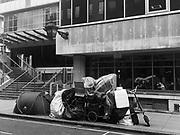 Homeless tent in Bloomsbury, London. 19 September 2018