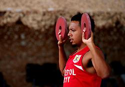 Korey Smith of Bristol City works out in the gym - Mandatory by-line: Matt McNulty/JMP - 20/07/2017 - FOOTBALL - Tenerife Top Training Centre - Costa Adeje, Tenerife - Pre-Season Training
