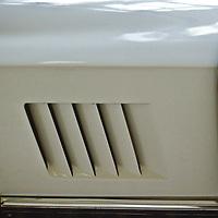 White Corvette Sting Ray at car show