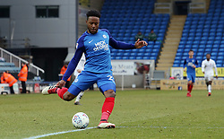 Jermaine Anderson of Peterborough United provides the assist for the fourth goal scored by Jack Marriott - Mandatory by-line: Joe Dent/JMP - 10/03/2018 - FOOTBALL - ABAX Stadium - Peterborough, England - Peterborough United v Charlton Athletic - Sky Bet League One
