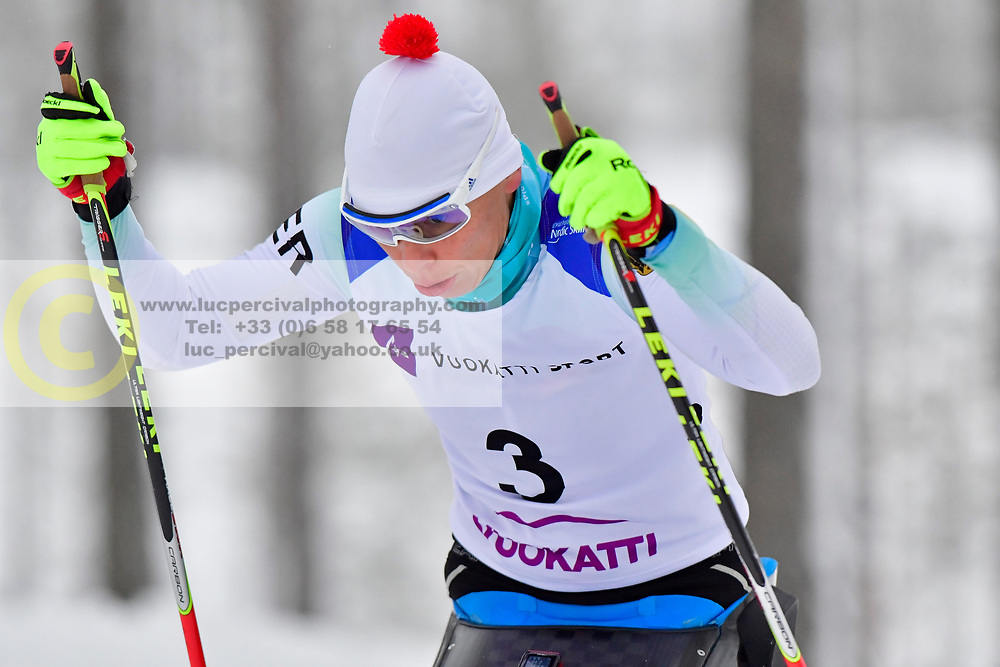 ESKAU Andrea, GER, LW11 at the 2018 ParaNordic World Cup Vuokatti in Finland