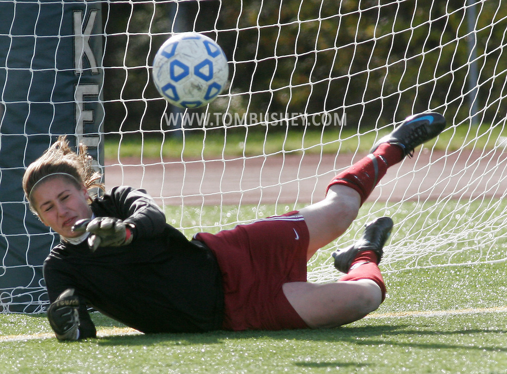 Yorktown Heights, NY - John Jay plays Arlington in the Section 1 Class AA girls' soccer championship game at Yorktown High School on Nov. 2, 2008.