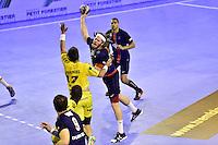 Mikkel HANSEN / Romain TERNEL - 04.06.2015 - Tremblay en France / Paris Saint Germain - 26eme journee de Division 1  -Beauvais<br />Photo : Dave Winter / Icon Sport