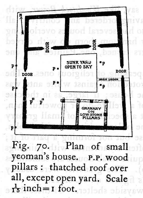 A yeomans house (Coomaraswamy)