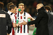 Onderwerp/Subject: Willem II - Eredivisie<br /> Reklame:  <br /> Club/Team/Country: <br /> Seizoen/Season: 2012/2013<br /> FOTO/PHOTO: Coach Jurgen STREPPEL (R) of Willem II giving instructions to Aurelien JOACHIM (C) of Willem II and Ricardo IPPEL (L) of Willem II and Marc HOCHER (NOT VISIBLE ON PHOTO) of Willem II. (Photo by PICS UNITED)<br /> <br /> Trefwoorden/Keywords: <br /> #03 #09 #18 $94 &plusmn;1355242121502 &plusmn;1355242121502<br /> Photo- &amp; Copyrights &copy; PICS UNITED <br /> P.O. Box 7164 - 5605 BE  EINDHOVEN (THE NETHERLANDS) <br /> Phone +31 (0)40 296 28 00 <br /> Fax +31 (0) 40 248 47 43 <br /> http://www.pics-united.com <br /> e-mail : sales@pics-united.com (If you would like to raise any issues regarding any aspects of products / service of PICS UNITED) or <br /> e-mail : sales@pics-united.com   <br /> <br /> ATTENTIE: <br /> Publicatie ook bij aanbieding door derden is slechts toegestaan na verkregen toestemming van Pics United. <br /> VOLLEDIGE NAAMSVERMELDING IS VERPLICHT! (&copy; PICS UNITED/Naam Fotograaf, zie veld 4 van de bestandsinfo 'credits') <br /> ATTENTION:  <br /> &copy; Pics United. Reproduction/publication of this photo by any parties is only permitted after authorisation is sought and obtained from  PICS UNITED- THE NETHERLANDS