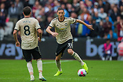 Nemanja Matic (Man United) during the Premier League match between West Ham United and Manchester United at the London Stadium, London, England on 22 September 2019.