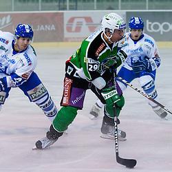 20110815: SLO, Ice Hockey - HDD Tilia Olimpija vs Medvescak Zagreb