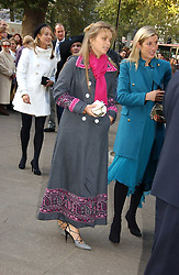 LADY KATHARINE HOWARD at the wedding of Clementine Hambro to Orlando Fraser at St.Margarets Westminster Abbey, London on 3rd November 2006.<br />