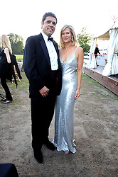 CHRIS & TIA GRAHAM at the annual Ham Polo Club Summer Ball held at the club, Petersham Road, Richmond, Surrey on 25th July 2008.<br /> <br /> NON EXCLUSIVE - WORLD RIGHTS