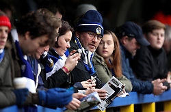 Bristol Rovers fans - Mandatory byline: Robbie Stephenson/JMP - 07966 386802 - 26/12/2015 - FOOTBALL - Kingsmeadow Stadium - Wimbledon, England - AFC Wimbledon v Bristol Rovers - Sky Bet League Two