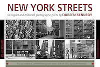 Limited edition box set of New York Photographic prints by Irish artist Doreen Kennedy
