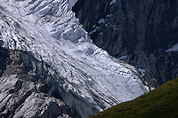 Glacier at Grosglockner Mountain, Hohe Tauern National Park, Carinthia, Austria