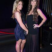 NLD/Amsterdam/20140410 - Presentatie Playboy met Melisa Schaufeli en zus Isabelle