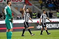 28.10.2017 - Milano - Serie A 2017/18 - 11a giornata  -  Milan-Juventus nella  foto: Gonzalo Higuain esulta dopo il gol  del 2 a 0